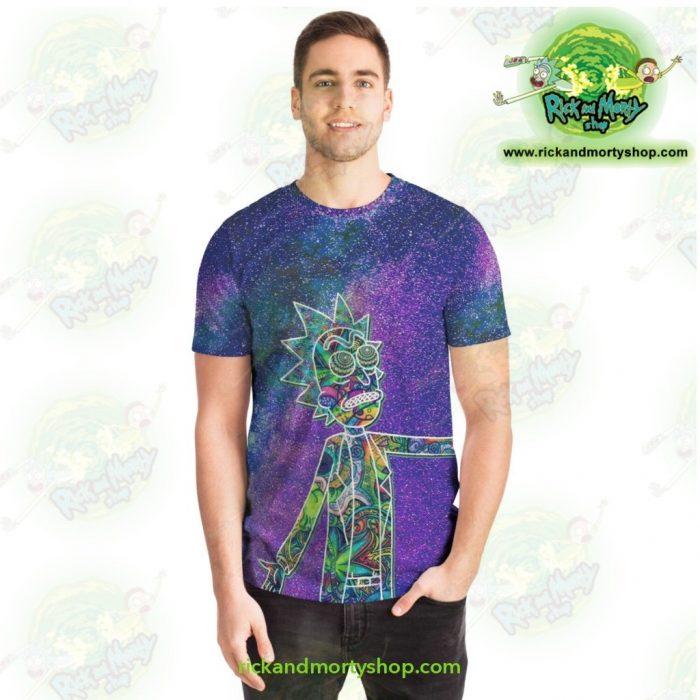 Rick Sanchez 3D Galaxy T-Shirt T-Shirt