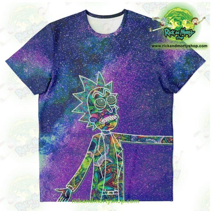 Rick Sanchez 3D Galaxy T-Shirt Xs T-Shirt