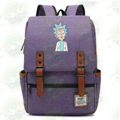Rick Sanchez Travel Backpack Blue / 14 Inch