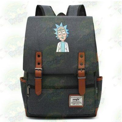 Rick Sanchez Travel Backpack Dark Grey / 14 Inch