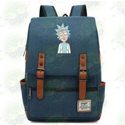 Rick Sanchez Travel Backpack Purple / 14 Inch