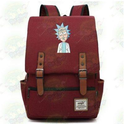 Rick Sanchez Travel Backpack Red / 14 Inch