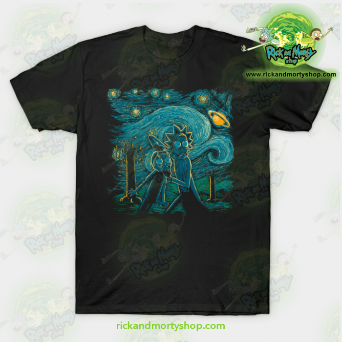 Rick Morty Impressionist Science T Shirt - Rick And Morty Shop