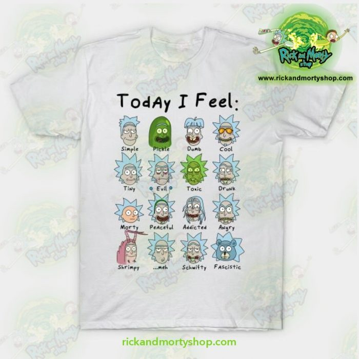 Rick Morty Today I Feel Rick T Shirt - Rick And Morty Shop
