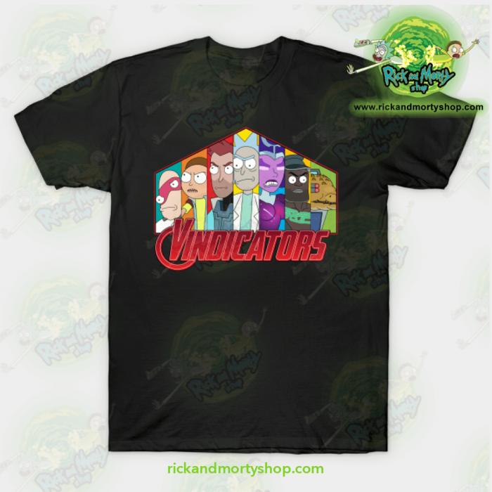 Rick Morty Vindicators T Shirt - Rick And Morty Shop