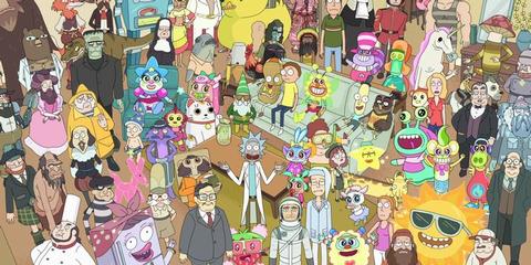 Total Rickall S02 E04 - Rick And Morty Shop