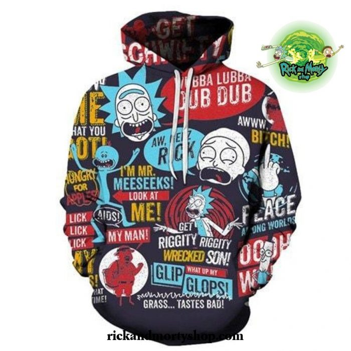 2021 Rick And Morty Theme 3D Hoodie