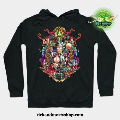Buckle Up Morty! Hoodie Black / S