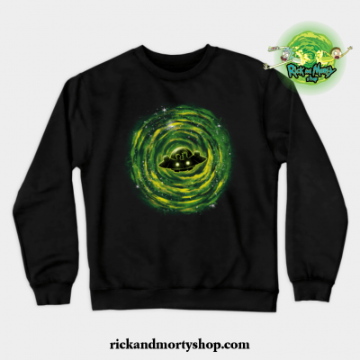 Dimensional Rikt Crewneck Sweatshirt Black / S