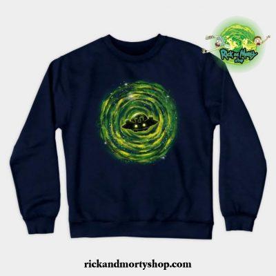 Dimensional Rikt Crewneck Sweatshirt Navy Blue / S