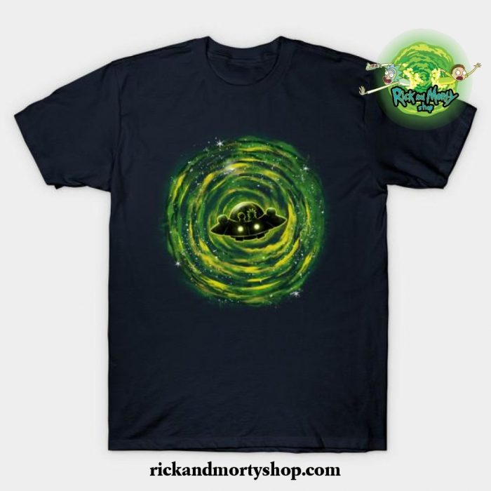 Dimensional Rikt T-Shirt Navy Blue / S
