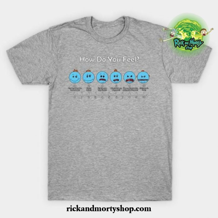 Meeseeks T-Shirt Gray / S