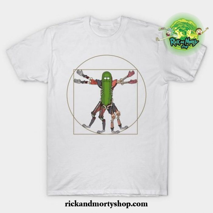 Renaissance Pickle Rick T-Shirt White / S