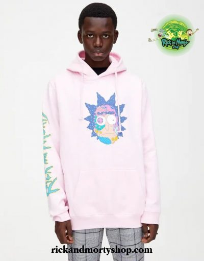 Rick and Morty Pink Hoodie - Limited Stock Available