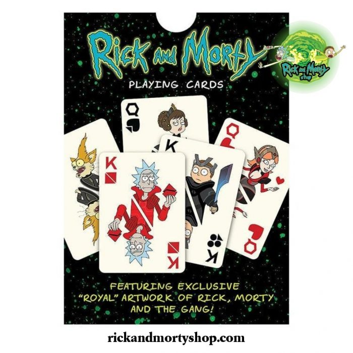 Rick And Morty Playing Cards Poker Card
