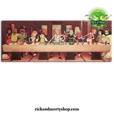 Rick And Morty Season 5 Kraft Paper Poster