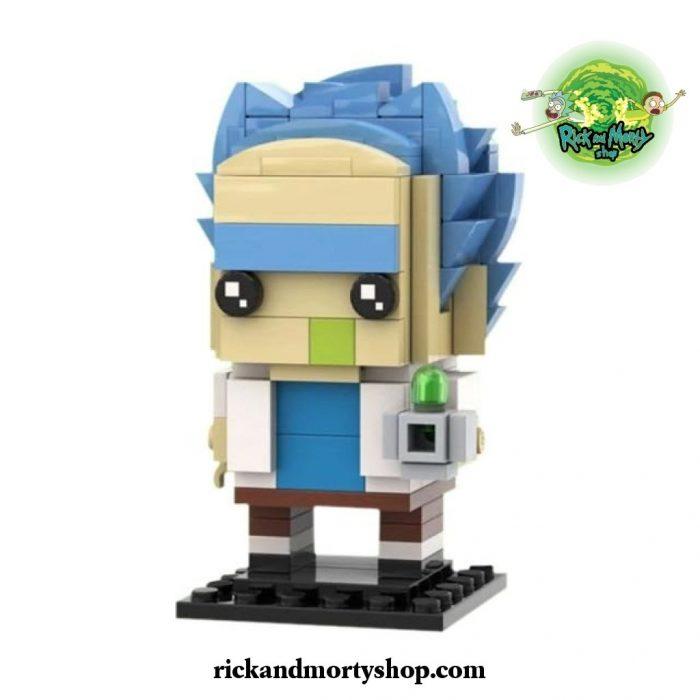 Rick Sanchez Brickheadz Building Blocks