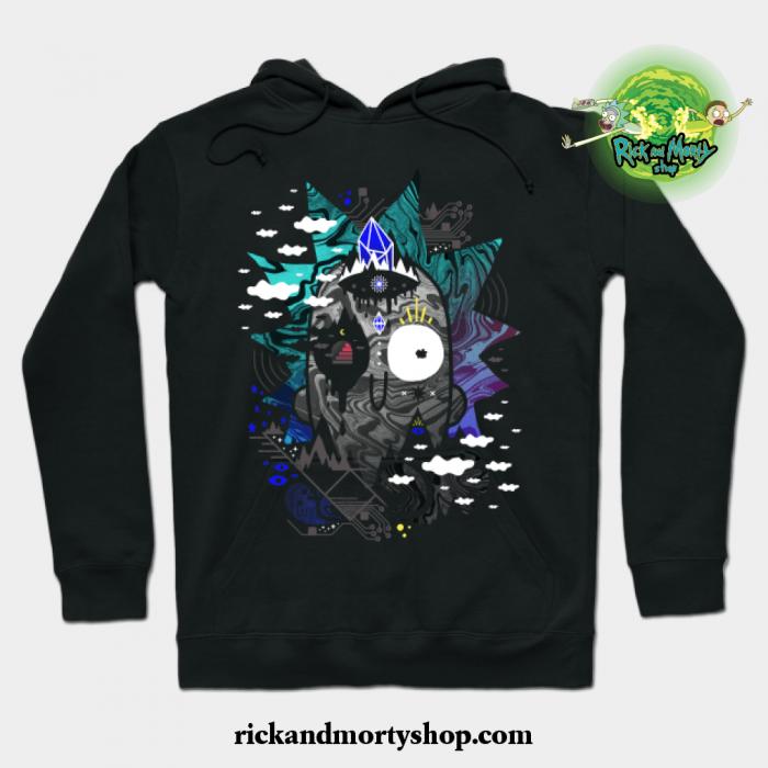 Rick Wrecked Hoodie Black / S