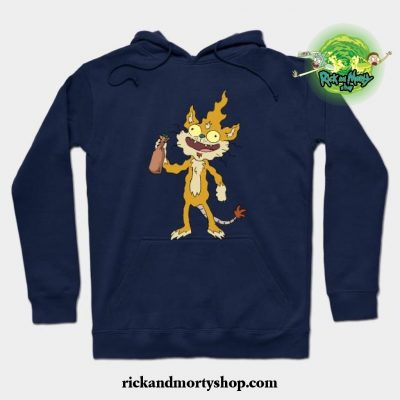 Squanchy Hoodie Navy Blue / S