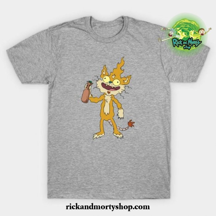 Squanchy T-Shirt Gray / S