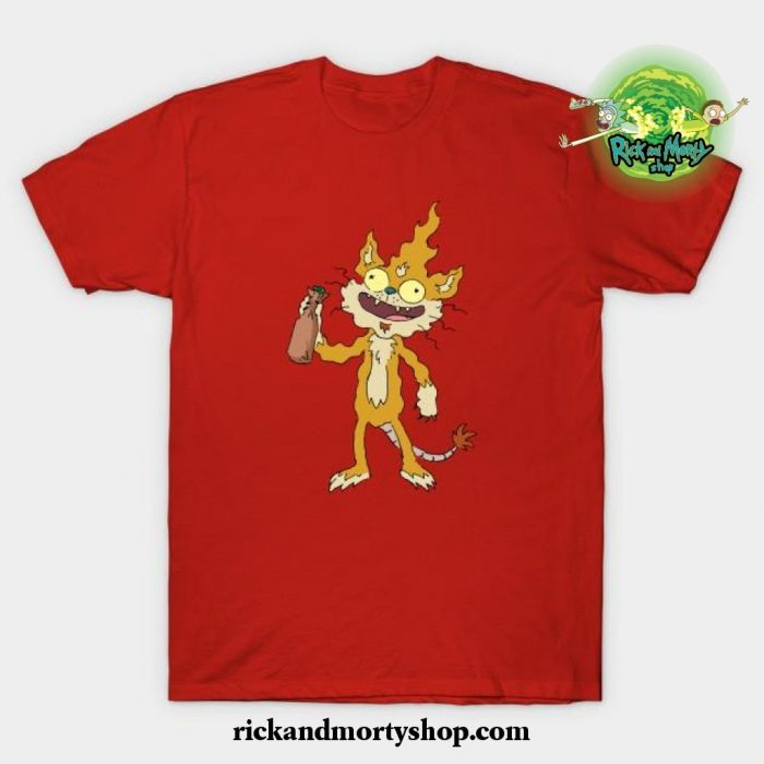 Squanchy T-Shirt Red / S