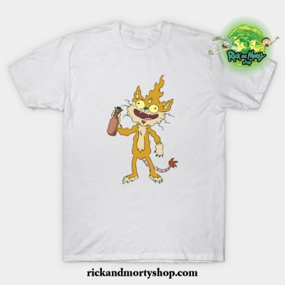 Squanchy T-Shirt White / S