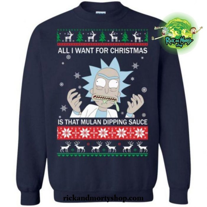 All I Want For Christmas Is That Mulan Dipping Sauce Sweater