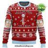 Rick And Morty Time For A Beer Ugly Christmas Sweater