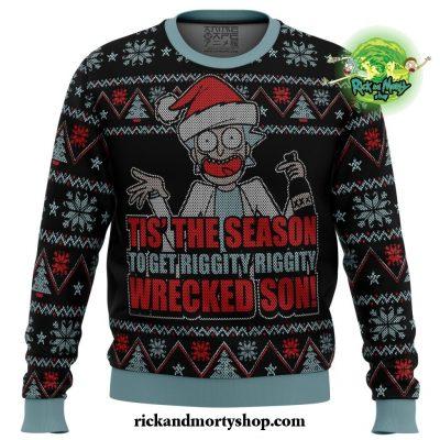 Rick And Morty Tis The Season Ugly Christmas Sweater