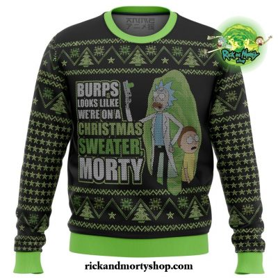 Rick And Morty Were In A Xmas Sweater Ugly Christmas