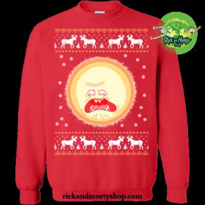 Screaming Sun Merry Christmas Sweater
