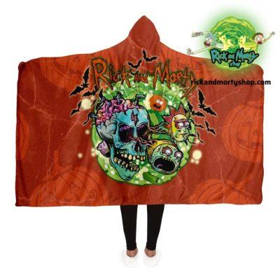 R&m Halloween 01 Hooded Blanket / 130*150Cm