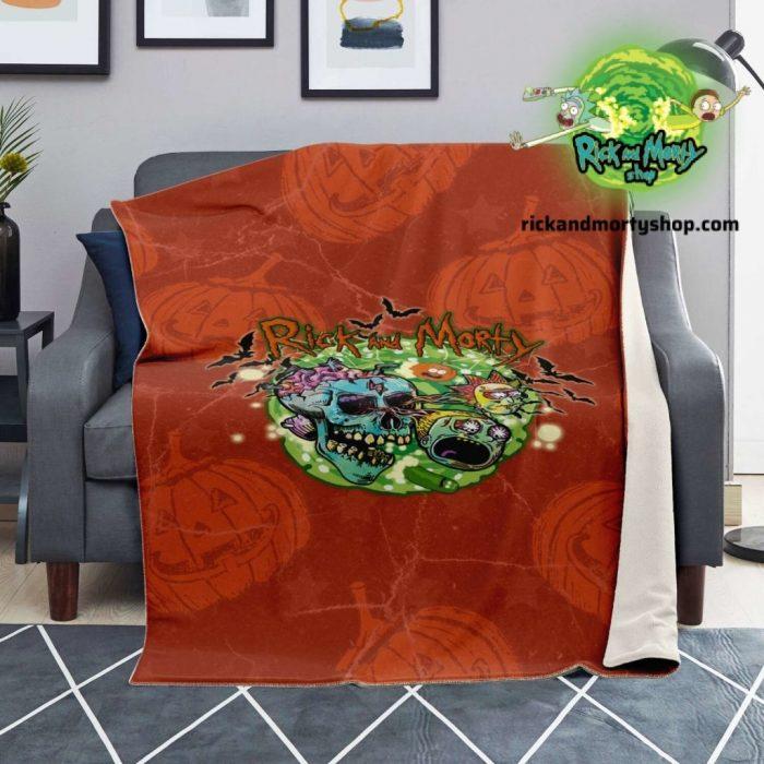 R&m Halloween 01 Microfleece Blanket / 130*150Cm