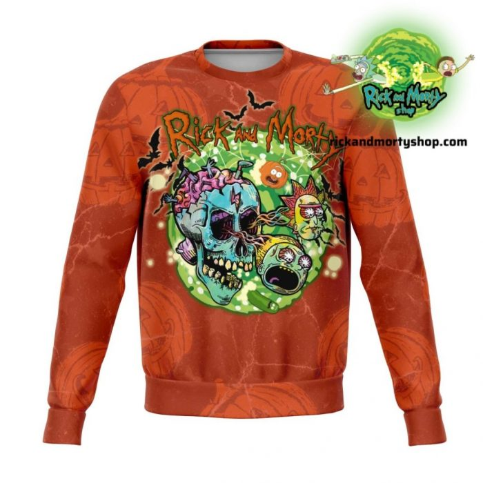 R&m Halloween 01 Sweatshirt / S