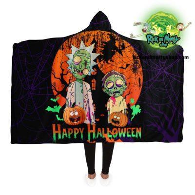 R&m Halloween 02 Hooded Blanket / 130*150Cm