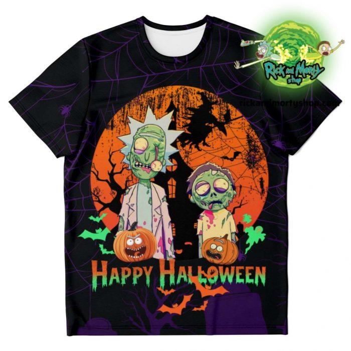 R&m Halloween 02 T-Shirt / S