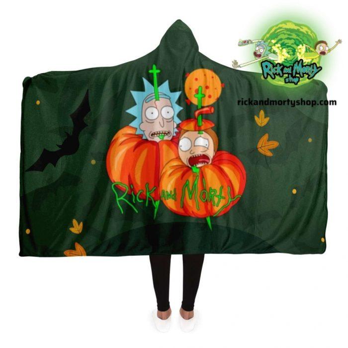 R&m Halloween 03 Hooded Blanket / 130*150Cm
