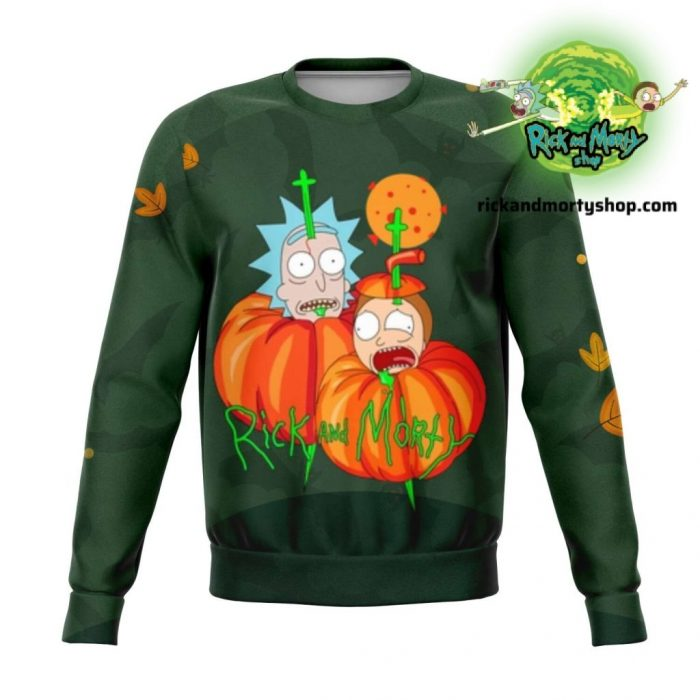 R&m Halloween 03 Sweatshirt / S