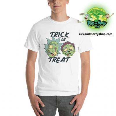 R&m Halloween 6 T-Shirt / White S