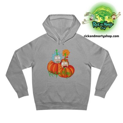 R&m Halloween Hoodie / Gray S