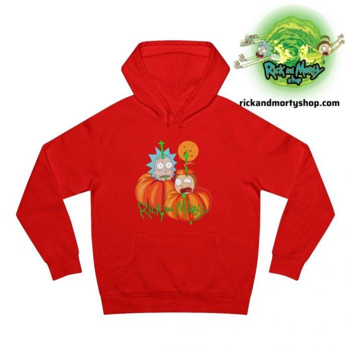 R&m Halloween Hoodie / Red S