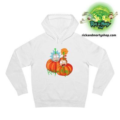 R&m Halloween Hoodie / White S