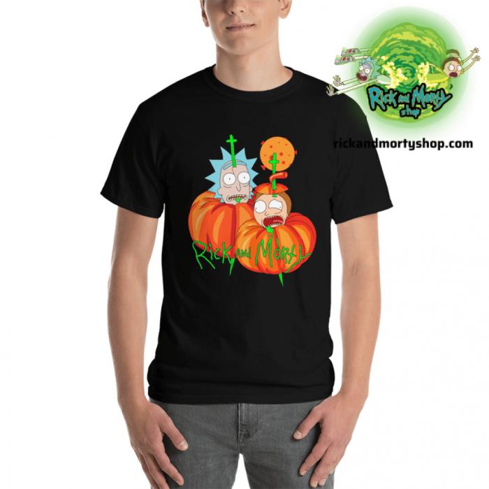 R&m Halloween T-Shirt / Black S