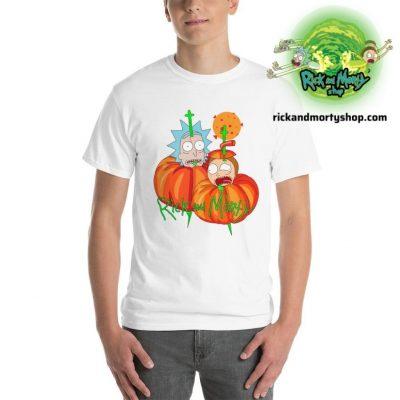 R&m Halloween T-Shirt / White S